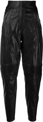 Stella McCartney Faux Leather Riding Trousers
