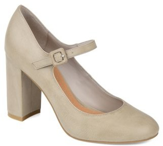 Brinley Co. Womens Block Heel Mary Jane Pump