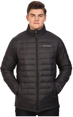 Columbia Big Tall Voodoo Falls 590 TurboDown Jacket (Black) Men's Coat