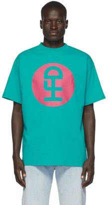 Honey Fucking Dijon Green Large Logo T-Shirt