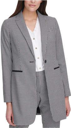 Tommy Hilfiger Gingham Topper Jacket