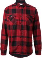Sacai checked shirt - men - Rayon - 1