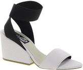 Cheap Cheap Monday Stomp White Heeled Sandals