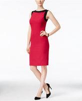 Kasper Petite Crepe Sheath Dress