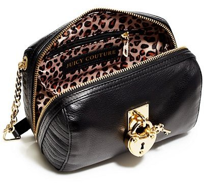 Juicy Couture Robertson Leather Mini Bowler