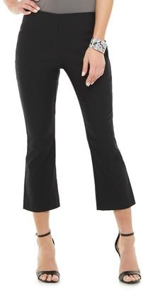 Apt. 9 Women's Tummy Control Millennium Kick Crop Pants