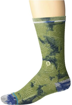 Stance Monte Claro (Army Green) Crew Cut Socks Shoes