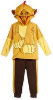 Nannette Little Boys' 2-Pc. Lion Graphic-Print Hoodie & Pants Set