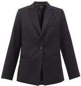 A.P.C. Savannah Tailored Wool Jacket - Womens - Navy