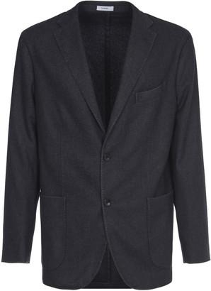 Boglioli Anthracite Gray Virgin Wool Jacket