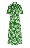 Stella Jean Midi Shirt Dress