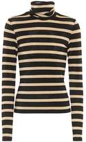 Veronica Beard Audrey striped turtleneck top