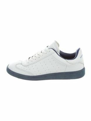 Etoile Isabel Marant Leather Sneakers White