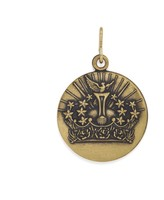 Alex and Ani Queen's Crown Necklace Charm
