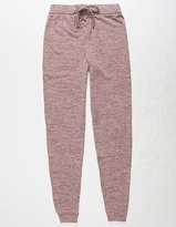 WHITE FAWN Lace Up Girls Jogger Pants