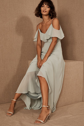 Jenny Yoo Mila Convertible Dress By in Green Size 0
