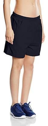 Trigema Damen Shorts 100% Baumwolle (Blau 046), 32 (Size: M)