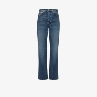 Totême Relaxed Fit Straight Leg Jeans