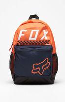 Fox Kick Stand Orange Laptop Backpack