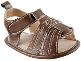 Luvable Friends Brown Casual Sandal - Infant