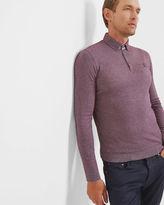 SALVI Woven polo shirt