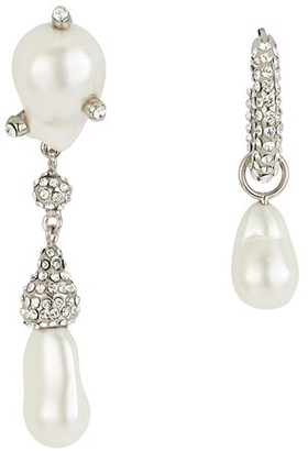 "Givenchy Midnight Pearl"" earrings"