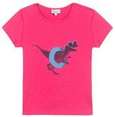 Paul Smith Pink Dinosaur Printed T-Shirt