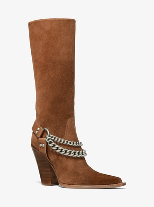 Michael Kors Collection Brodie Suede Boot