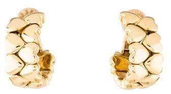 Cartier Double Row Heart Clip-On Earrings