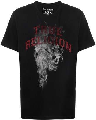 True Religion rhinestone logo T-shirt