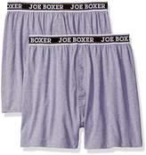 Joe Boxer Men's Loose 2 Pack Boxer