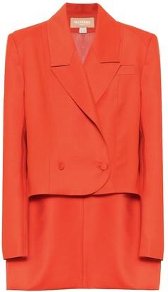 MATÉRIEL Wool-blend blazer