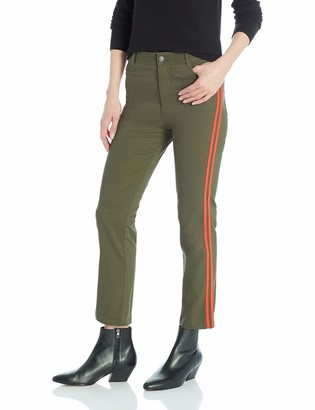 The Fifth Label Women's Symbolic Racing Stripe Cropped Pants