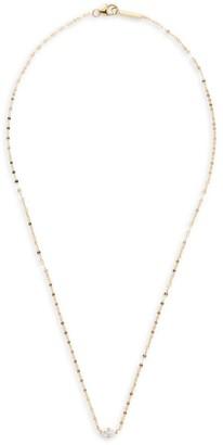 Lana Marquis Diamond & 14K Gold Pendant Necklace