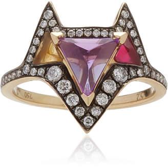 Noor Fares 18K Grey Gold Hava Ring