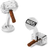 Marvel Silver-Plated 3D Thor Hammer Cufflinks