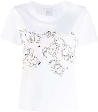 Escada Sport embroidered T-shirt