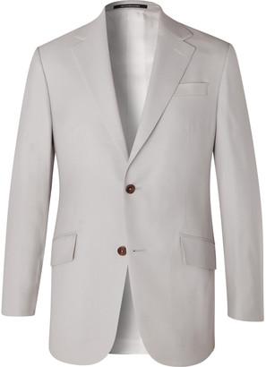 Richard James Wool Gabardine Suit Jacket