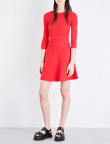 Mo&Co. Fit-and-flare knitted dress