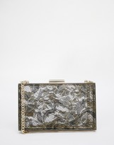 Love Moschino Lace Box Clutch