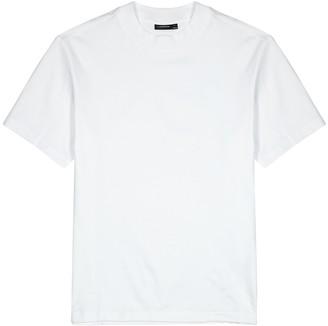 J. Lindeberg Ace white cotton T-shirt
