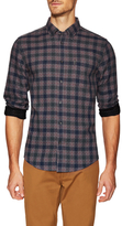 Ben Sherman Diamond Stitch House Check Plaid Sportshirt