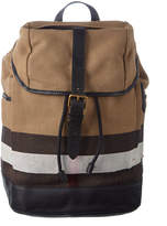 Burberry Drifton Check Canvas Backpack