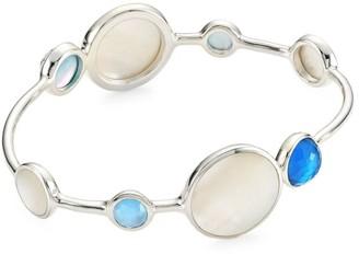 Ippolita Wonderland Sterling Silver, Mother-Of-Pearl & Doublet Bangle