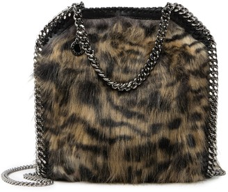 Stella McCartney Falabella Faux Fur Chain Tote