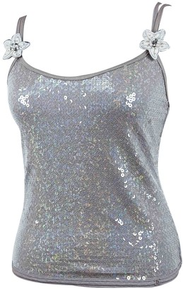 Chanel Pink Glitter Top for Women Vintage
