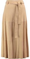 Robert Rodriguez Suede Midi Skirt