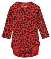 Mini Rodini Leopard Body Red