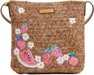 Vera Bradley Straw Crossbody Bag