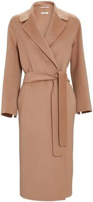 S Max Mara Lugano Belted Wool Wrap Coat
